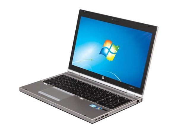 "HP Elitebook 8570p Intel Core i5 2.60Ghz 4GB RAM 320GB HDD 15.6"" screen DVD Windows 7 Professional (64 bit)"