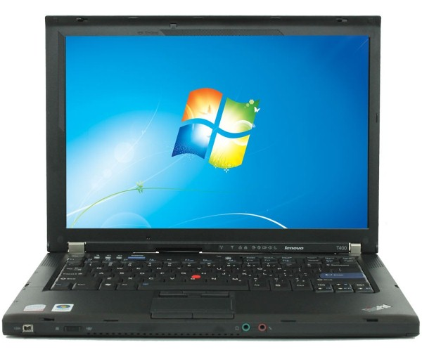 lenovo thinkpad t400 core 2 duo p8600 4gb ram 160gb hdd 14 1